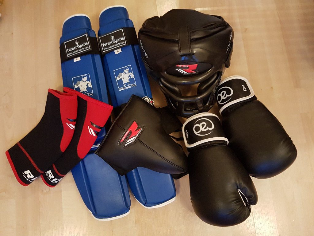 kickboxing gear
