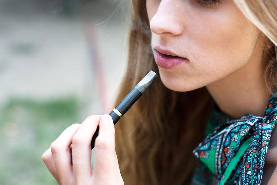 Use of e-cigarettes